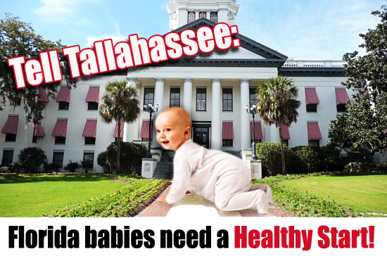 Tell Tallahasse: Florida babies need a Healthy Start!